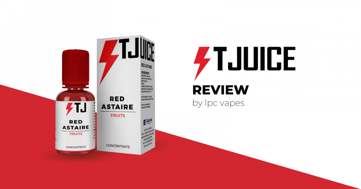T-Juice Red Astaire Review lpc vapes